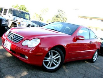 2002 Mercedes-benz C230 Kompressor,Coupe,C-class,Red/black - Buy Used Cars  Product on Alibaba com