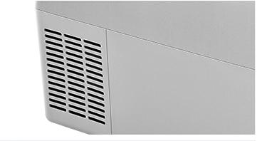 Portable 52l DC 12/24v compressor car fridge refrigerator for camping off road