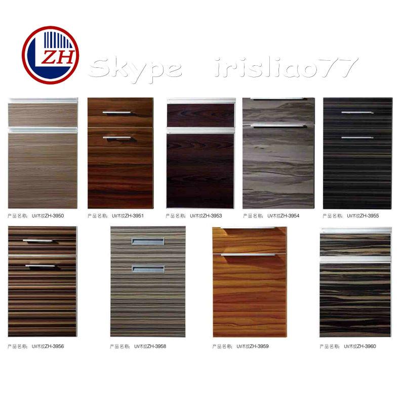 moderna cocina de madera de la puerta del armario los diseños ...