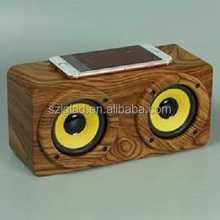 RADIATIONLESS!! PATENT DESIGN!!TOUCH INDUCTION AMPLIFIER STEREO WIRELESS SENSOR IMITATION WOOD PORTABLE SPEAKER