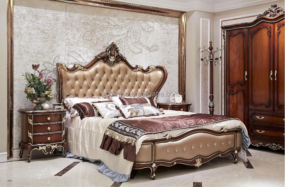Chambre A Coucher Royal Italy : Eau style luxe antique lit mobilier de chambre