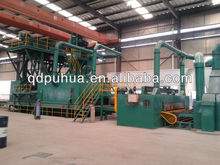 Steel Plate Pretreatment Line/Steel Plate Shot Blasting and Painting Line