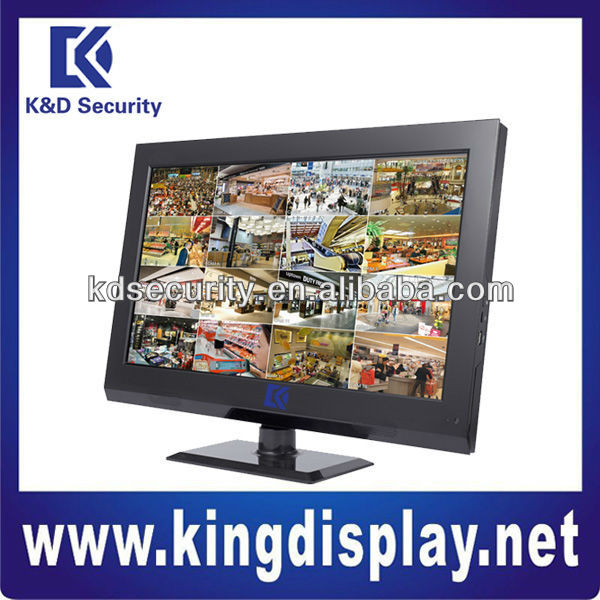 Professional 22 inch LCD and 16 channel DVR Combo with TV(BNC)/ HDMI out