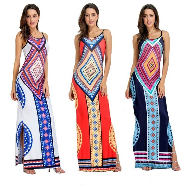 African Kitenge Dress Designs Sexy Slim Backless Maxi Dress 3 Different Patterns Spaghetti Strap Women Dress Buy African Xxx Photo Xxx Alibaba Dress African Kitenge Dress Designs Product On Alibaba Com