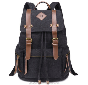 canvas used school bags laptop backpack for younger men bags