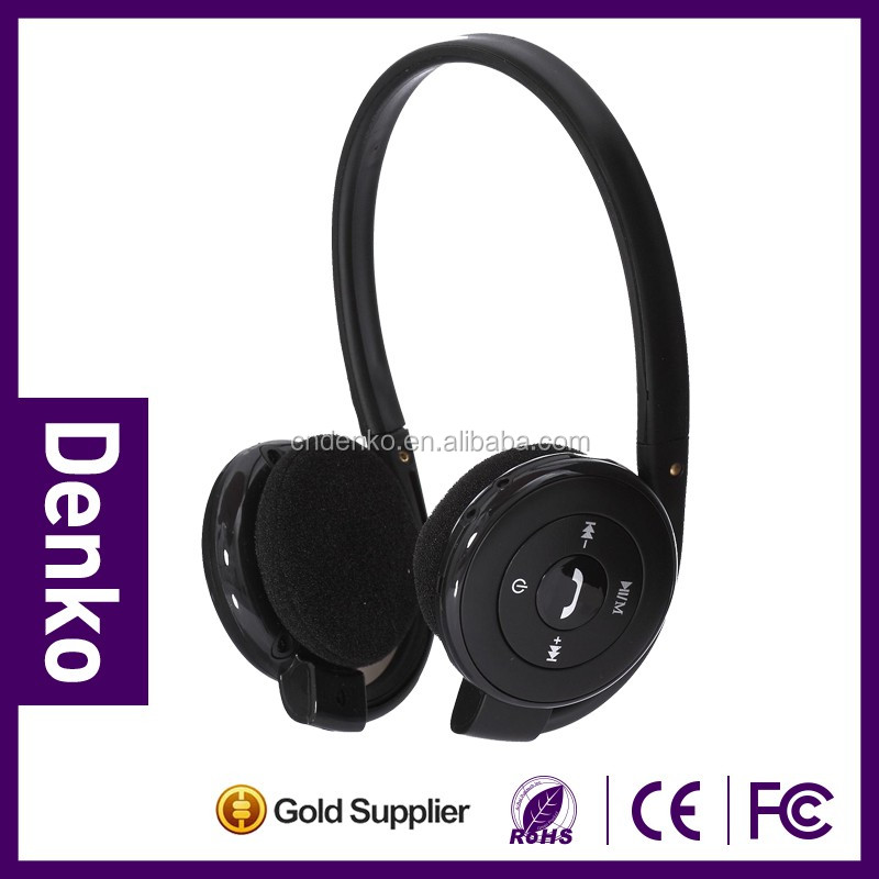 2016 Hot sales neckband headphone sport with wireless version