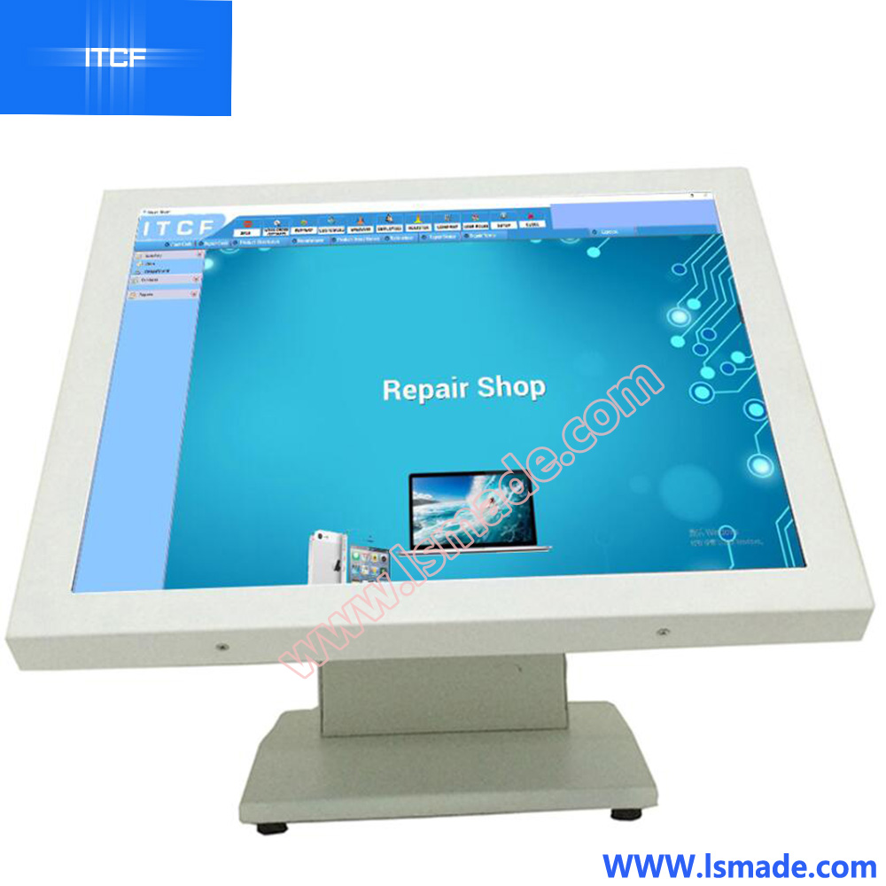 ITCF metal housing 17inch pos terminal price cheap cash register for retail store