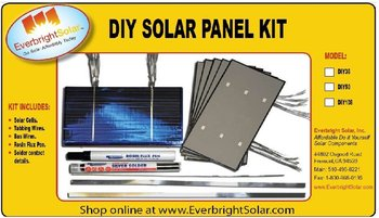 200 3x6 Evergreen Solar Cells Pretabbed Diy Panel Kit