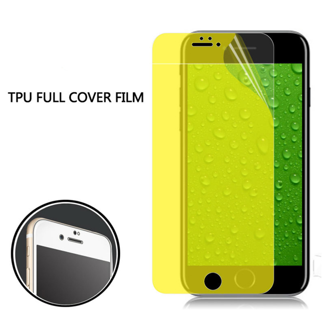 Full Cover Anti Shock TPU Screen Protector Film For iPhone