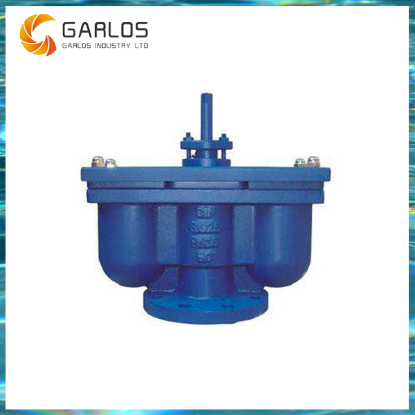 QB Water pipe cast iron quick double orifice air vent valve