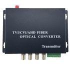 HD CCTV 1080P CVI AHD TVI 4 CH Video Fiber Optical Media Converters,S/M 20Km, FC