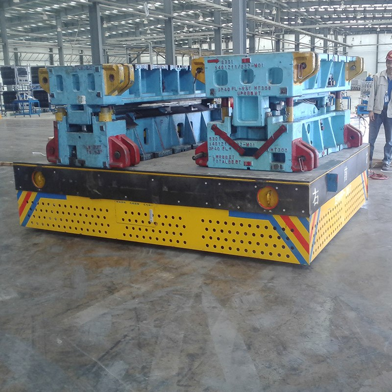25 ton Industrial Agv trackless transfer carts for mold handling