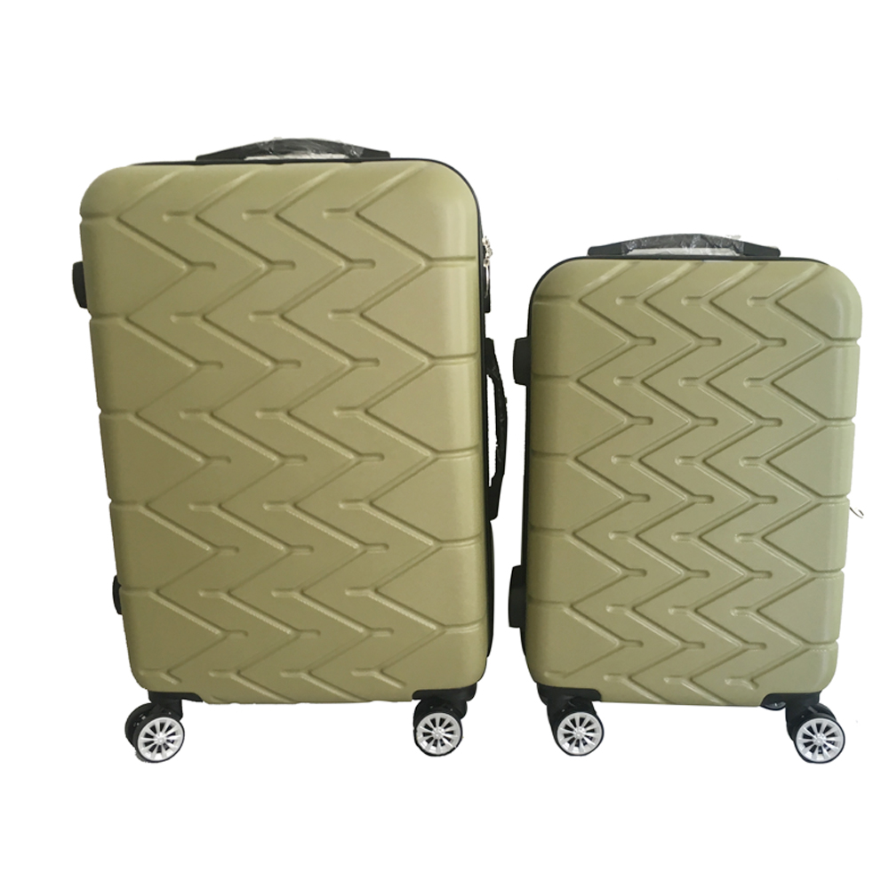 Wenzhou supplier ABS job lot Trolley luggage bag mans bag steam punk 3pcs travel trolley set wheels luggage cases