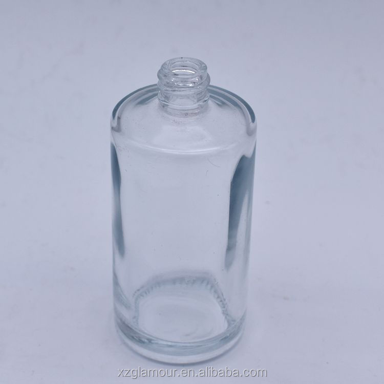 wholesale round fragrance glass bottle for perfume 100ml