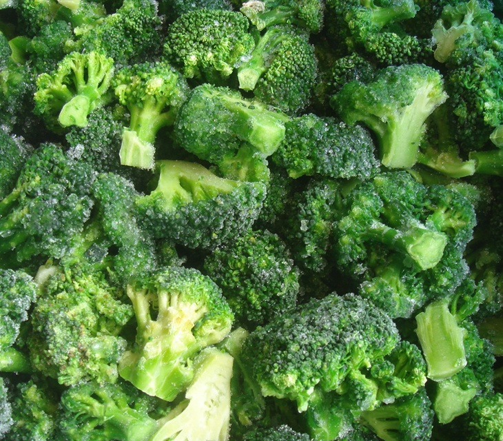 frozen vegetables china - 730×640