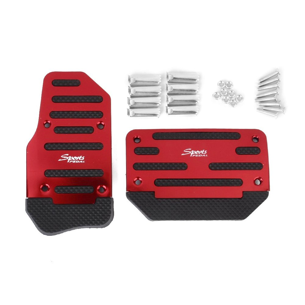 DIDEMI Non-Slip Car Pedal Kick Panels Treadle Foot Brake Cover Pad Accelerator Pedals for Automate Vehicle