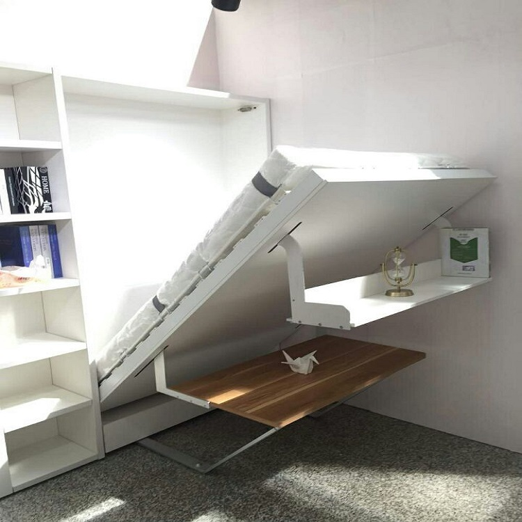 Hidden Bed With Study Table, Hidden Bed With Study Table Suppliers And  Manufacturers At Alibaba.com