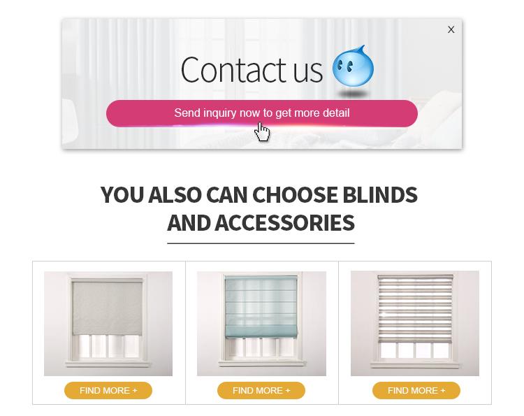 Style américain fait sur commande de bonne qualité rideau de fenêtre occultant windows
