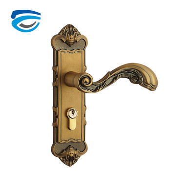 China Factory Mortise Garage Door Handle Lock For Exterior Door