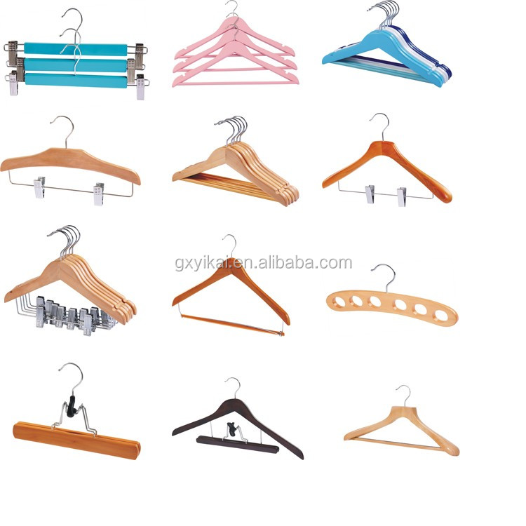 YIKAI wholesale mini satin baby padded hanger