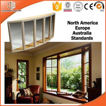 America Style Garden Old Wood Bay And Bow Windows For Sale
