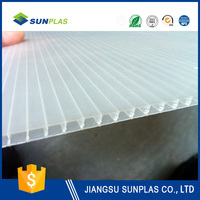 white plastic pp hollow board sheeting