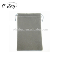 China wholesale fancy mobile velvet pouches for the girls