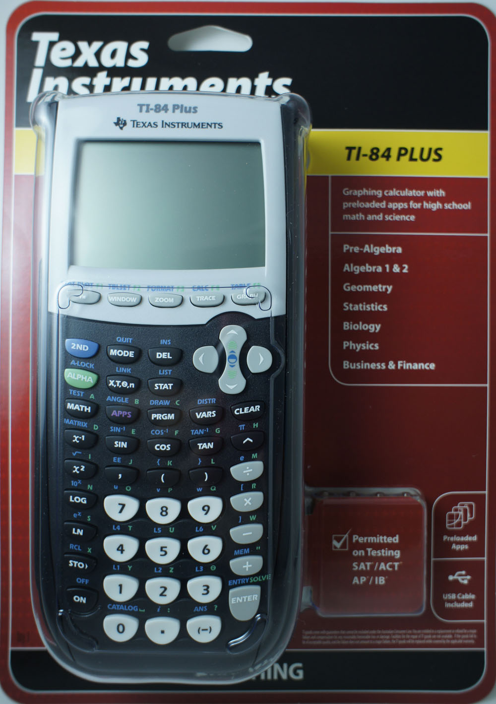 Texas Instruments Ti-84 Plus Graphing Calculator (brand New Sealed) - Buy Ti -84 Plus Product on Alibaba.com