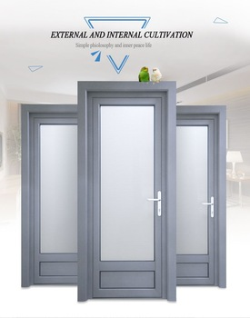 Modern Aluminium Bathroom Doors And Window Aluminum Frame