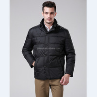 New winter men's down jackets and coats brand Light warm down coat collar men's clothing wholesale for middle-aged men