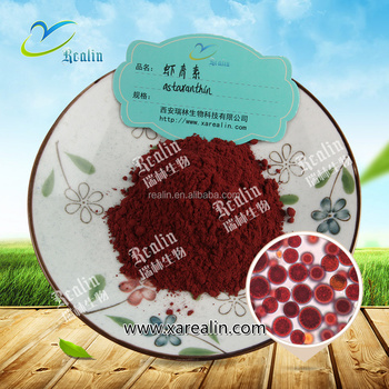 Haematococcus Pluvialis Extract powder astaxanthin 10% powder for improving Brain Health