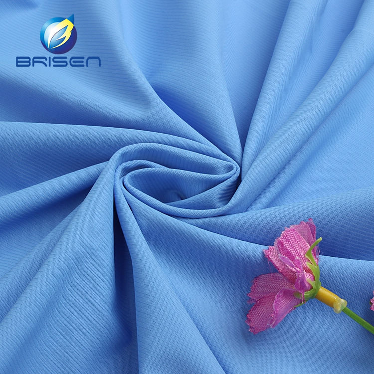 Design blue stretch 75% nylon 25% spandex underwear beachwear swim fabrics