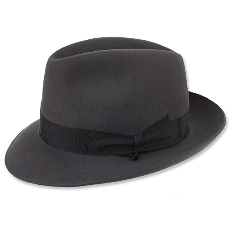 7ee6689885f01 Get Quotations · Borsalino Classic Fedora Hat