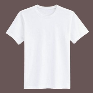 Factory Price 100% Cotton Custom Promotional White T-Shirt