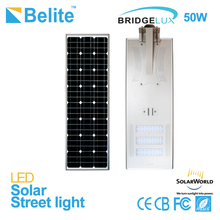 high quality 50w garden solar led street light high efficiency solar panel