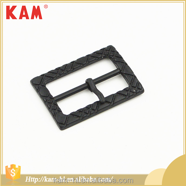 Fashion alloy garment accessory metal dress buckle for belt or clothes