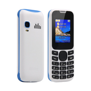 GSM Quad Band 1.77 Inch TFT Screen Dual SIM Card Cell Phone Unlocked Chinos celulares baratos