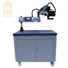 high precision manual tapping machine for aircraft engine tire threading machine