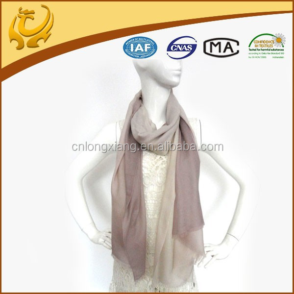 super soft ang light color 100% cashmere scarves india