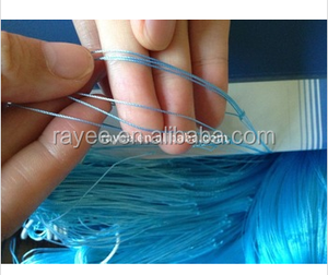 braided pe fishing net, silk fishing net/China redes de pesca de fabrica