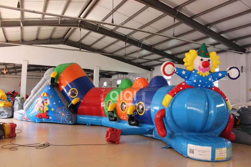 QIQI inflatables inflatable caterpillar tunnel for kids china