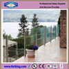 Thriking Glass 8mm 10mm 12mm tempered glass fence panels for buildings