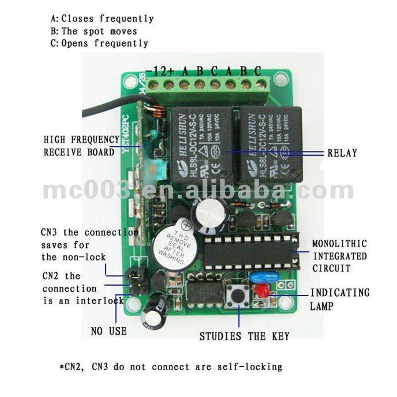 Peque 241 O Transmisor Receptor Control Remoto Identificaci 243 N