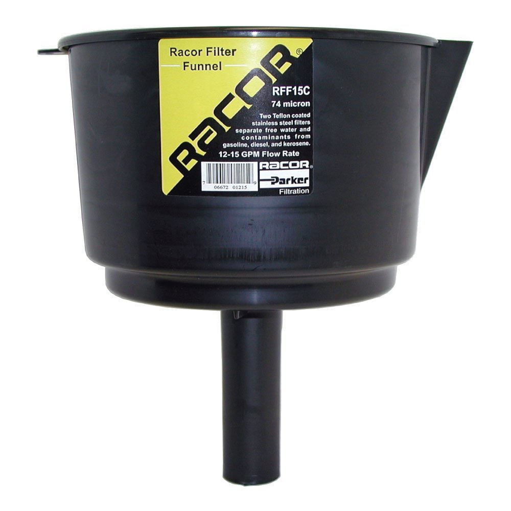 Racor RFF15C Fuel Filtr Funnel 15 Gpm Made by Racor