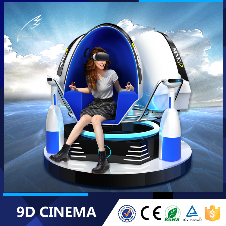 2016 New Products Vr 3D Glasses 3 Seats Egg Design 360 Degree Rotation 9d virtual reality