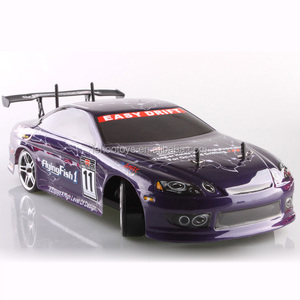 Fying Fish HSP 94123 RTR RC Drift Car Toys 1/10 scale 4WD Brushless Electric Drifting Car with LiPO 7.4V 3600mAh Battery