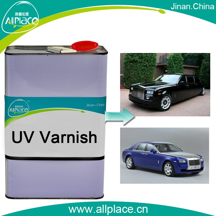 High quality car body UV varnish