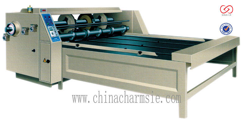 GIGA LX WQ chain feeding type semi-auto printing slotting machine