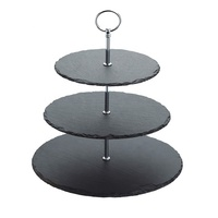 All sorts for sizes square shape slate stone unique cake stands