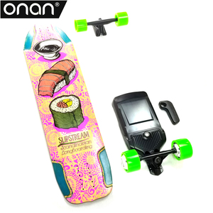 ONAN 2018 high quality four wheel electric skateboard with small wheels
